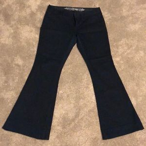 Express flare jeans Size 8